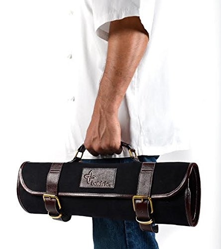 Boldric CM555 Canvas Knife Bag, 9 Slots, Black Test