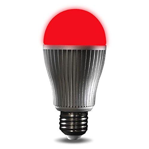 LIGHTEU, 1x 9W E27 WiFi Multicolor RGB light LED Bulb, Original MILIGHT Colour, Warm White, dimmable, Colour Changing Light Bulb