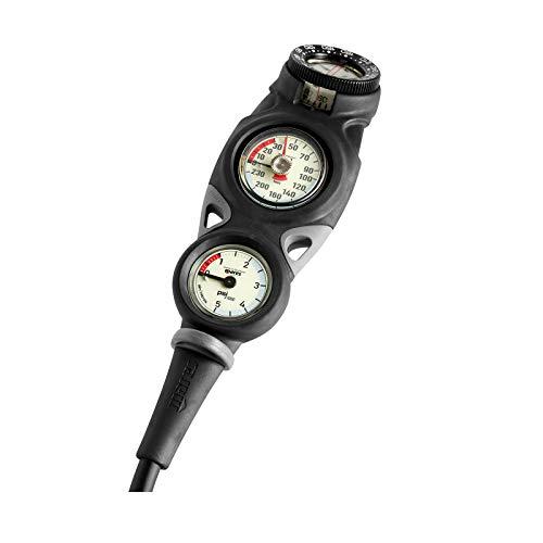 Mares MISSION 3 Finimeter. Tiefenmesser und Kompass Konsole - 414419 -