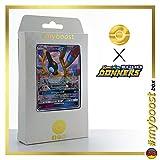 SYMVOLARA GX 98/214 - #myboost X Sonne & Mond 8 Echo des Donners - Box mit 10 Deutschen Pokémon-Karten
