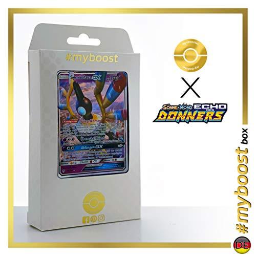 Symvolara-GX (Sigilyph-GX) 98/214 - #myboost X Sonne & Mond 8 Echo Des Donners - Box de 10 Cartas Pokémon Alemán