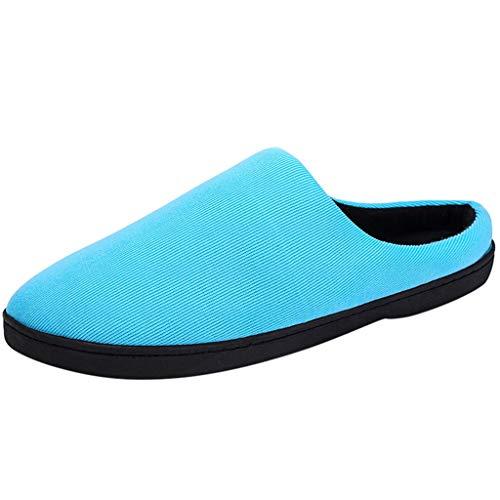 ▲Vovotrade▼ Pantofole per Le Donne Solid Comfort Indoors Antiscivolo Abbigliamento da Notte Coppie Home Memory Foam Shoes