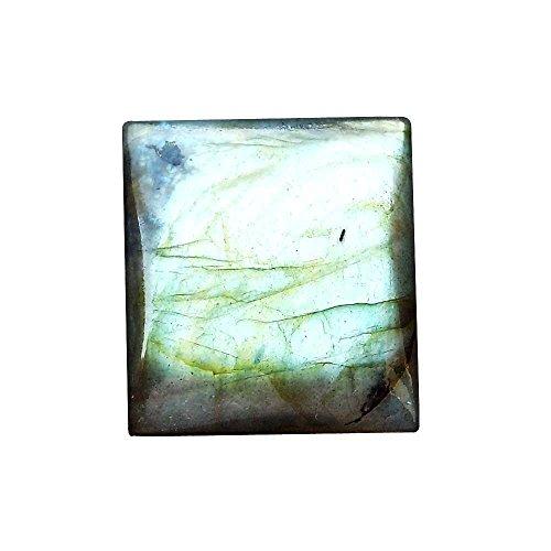 RASIYO Labradorit Cabochon Rechteckige Form, 33ct natürlicher Edelstein 23x 21x 6, a20K-2876 (Natürlichen Rechteckige)