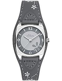 s.Oliver Damen-Armbanduhr Analog Quarz Leder SO-3184-LQ