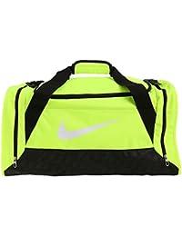 Nike Brasilia 6 Duffel - Bolsa de deporte para hombre, color amarillo, talla S