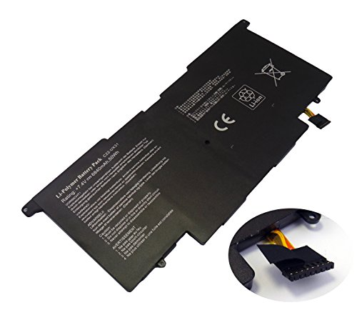 Baoyinengyuan 7.4V 6840mAh C22-UX31 Ersetzen Li-polymer ASUS Laptop Akku 50Wh für ASUS...