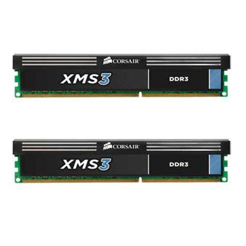 Corsair CMX8GX3M2A1600C9 XMS3 8GB (2x4GB) DDR3 1600 Mhz CL9 Performance Desktop Memory (Chip-dimm-speicher-modul)