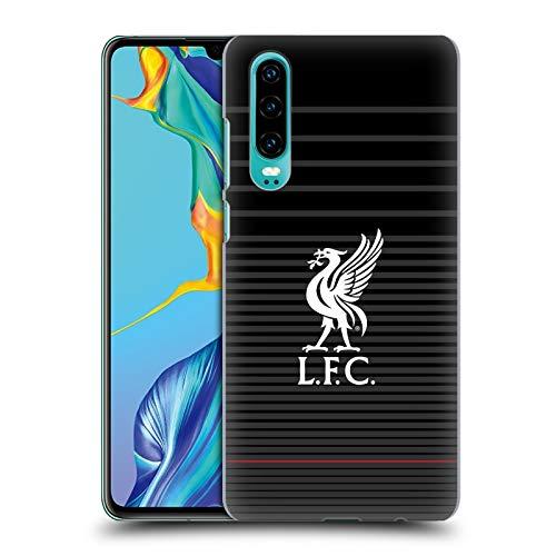 Head Case Designs Offizielle Liverpool Football Club Kit Weiss Und Schwarz Liver Bird Harte Rueckseiten Huelle kompatibel mit Huawei P30