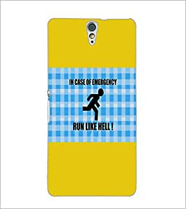 PrintDhaba Quote D-5704 Back Case Cover for SONY XPERIA C5 ULTRA (Multi-Coloured)