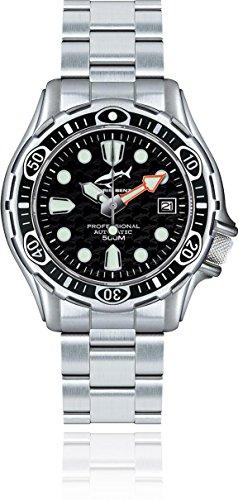 Chris Benz Deep 500m Automatik CB-500A-S-MB Reloj Automático para hombres Reloj de Buceo