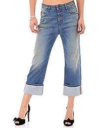 PLEASE - P16ibq2t43 femme over jeans pantalon