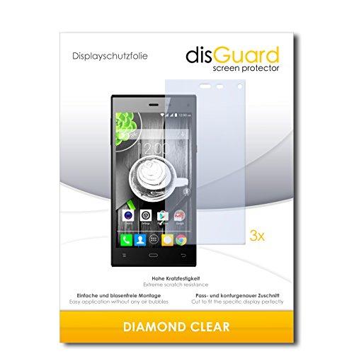 3 x disGuard® Schutzfolie Gigabyte GSmart Guru GX Bildschirmschutz Folie