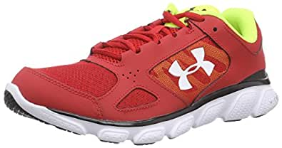Under Armour Ua Micro G Assert V, Chaussures de Running Homme - Rouge (red 600), 40.5 EU