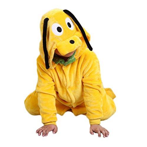 Nanxson (TM) Unisex Kinder Spielanzugoverall Spielanzugmantel Kletter Romper Jumpsuit Tier Design LTET0012 (105cm, (Halloween Kostüme Doggy)