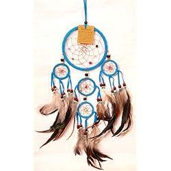 Attrape sueño de Atrapasueños Dreamcatcher Dream Catcher vientos azul turquesa trampa