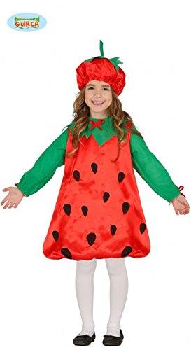 Kinder Shortcake Kostüm Größe 3-4 Jahre