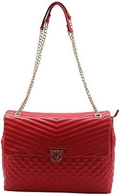 Valentino - Bolso al hombro de Material Sintético para mujer rojo rojo