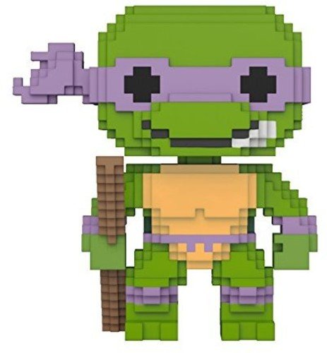 Pop 8 Bit Teenage Mutant Ninja Turtles Donatello Vinyl Figure