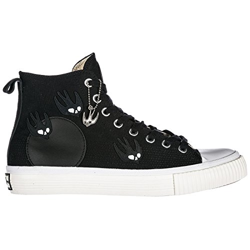 MCQ Alexander McQueen Chaussures Baskets Sneakers Hautes Homme Noir