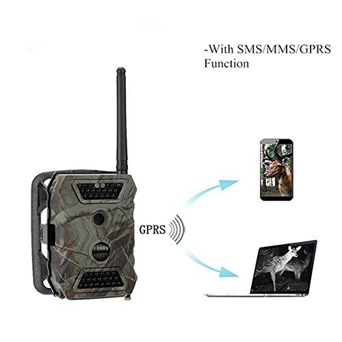 Táctico de Caza Digital cámara GPRS MMS Alarma PIR Detector de movimiento...
