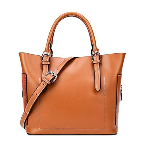 Damen Handtasche, Neue Mode Damentaschen Totes Geldbeutel Umhängetasche Hohe Qualität für Arbeit Datum Weihnachtseinkäufe (Farbe : E)