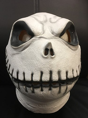 are before Christmas Style Maske - Jack Skelett - Latex Maske (Jack Skelett Maske)