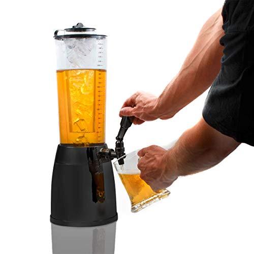 Biersäule Zapfsäule Biertower Getränkespender 4,0 L - 2