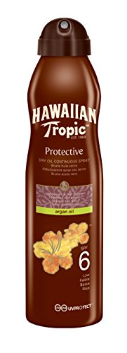 Hawaiian Tropic Argan Oil Sonnenöl Spray LSF6, 177 ml, 1 St
