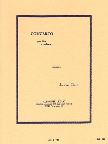 CONCERTO (FLUTE ET ORCHESTRE) PARTITION ...