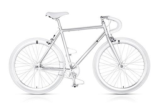 Bicicletta in alluminio minimal MBM Metal scatto fisso
