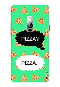 Noise Pizza Printed Cover for OnePlus 2