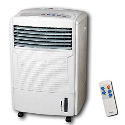 Bargains-galore Air Cooler With Remote Control Cold Humidifying Fan Timer Evaporator Water Tank