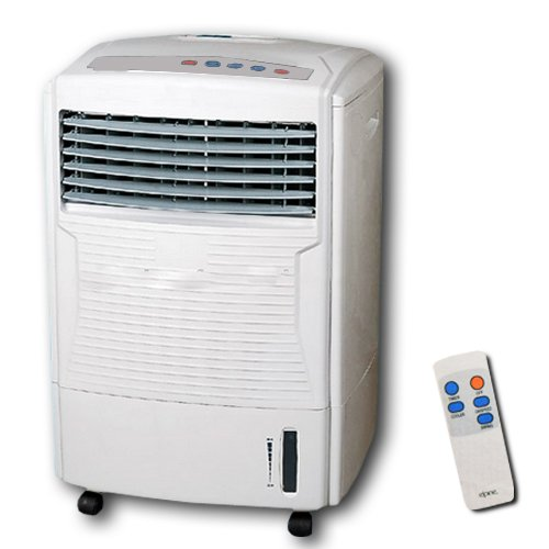 411MP9PM3rL. SS500  - BARGAINS-GALORE AIR COOLER WITH REMOTE CONTROL COLD HUMIDIFYING FAN TIMER EVAPORATOR WATER TANK