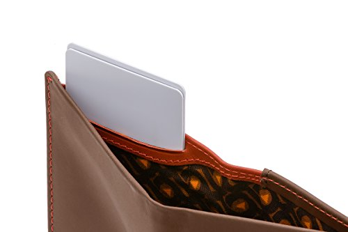 Bellroy Leather Note Sleeve Wallet Cocoa