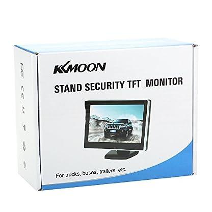 KKmoon-Auto-Rckfahrsystem-Rckfahrsystem-5-TFT-LCD-Display-Monitor-HD-Parkkamera