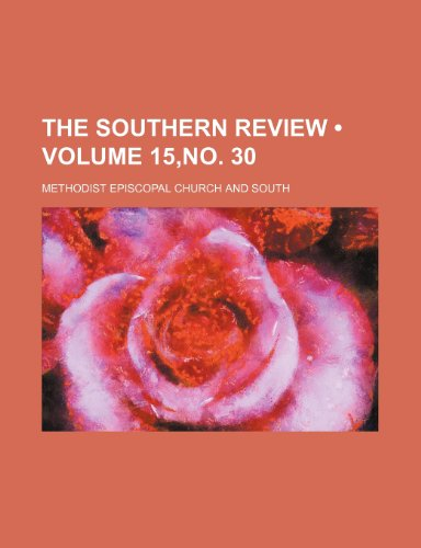 The Southern Review (Volume 15,no. 30)