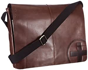 Strellson Jones Messenger LH 4010000123 Herren Messengertaschen 40x31x5.5cm (B x H x T), Braun (dark brown 702)