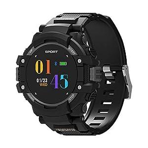 Chenang F7 Intelligente Uhr, Wasserdicht IP67, Sport Smart Watch mit Pulsmesser GPS-Laufuhr Unisex und Fitness-Tracker GPS-Laufuhr Fitness Uhr zur Herzfrequenz-und Fitnessaufzeichnung