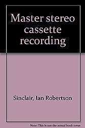 Master stereo cassette recording