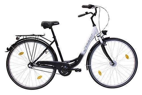 Citybike 28\' Zoll Aluminium 3-Gang Nabenschaltung STVZO Nabendynamo Rücktritt RH 48cm