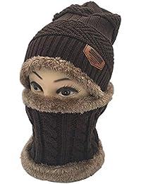 YHONG-hat Cappello in Lana Lavorato a Maglia Autunno e Inverno 832285d6232