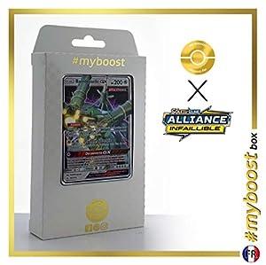 Bamboiselle-GX (Celesteela-GX) 163/214 - #myboost X Soleil & Lune 10 Alliance Infaillible - Box de 10 cartas Pokémon Francés