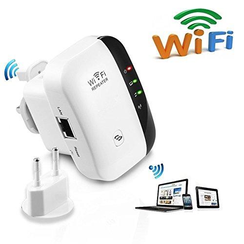 WLAN Repeater Wifi Range Extender (300 Mbit/s, App Steuerung...