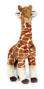 National Geographic- Giraffe Peluche, Color marrón (9770718)
