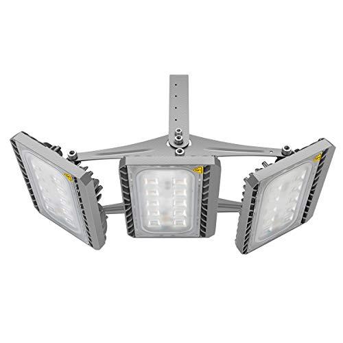 GOSUN Super Hell 150W LED Fluter Außenstrahler 13500Lumen 230V IP65 CREE SMD5050 Warmweiß, 36 Monate Garantie -