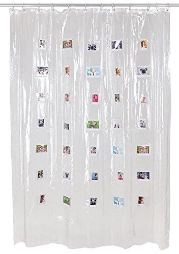 Fujifilm Instax Mini Transparente cortina de ducha – cortinas de ducha (Transparente)