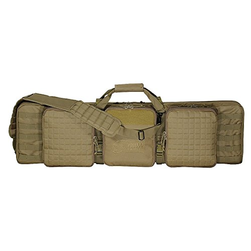 Voodoo Tactical 42inch Deluxe Padded Weapon Case With 6 Black Locks - by VooDoo Tactical