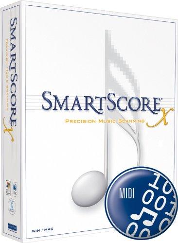 SmartScore X Deutsch - MIDI Edition - Notenscannsoftware