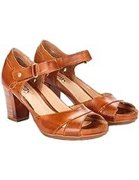 PIKOLINOS W0K-0972 Sandalias de tacón Mujer, COLOR: BRANDY, TALLA: 35