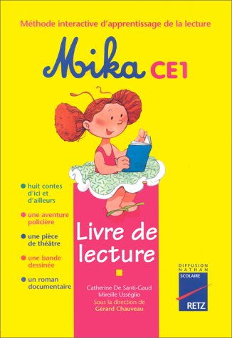 Mika CE1: livre de lecture